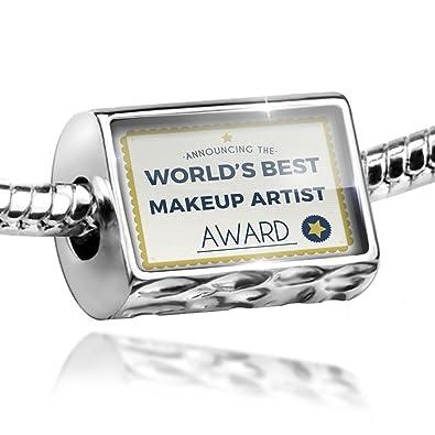 13610fe5d1f0d Amazon.com: NEONBLOND Bead Worlds Best Makeup Artist Certificate ...