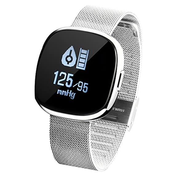 Amazon.com : LtrottedJ Smart Watch Smart Watch Sports, Fitness Activity Heart Rate, Tracker Blood Pressure Watch (Black) : Sports & Outdoors