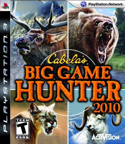 Cabela's Big Game Hunter '10 - Playstation 3 (Game Only) (Big Buck Hunter Game With 2 Guns)