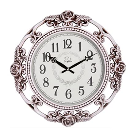 20-Inch Super Large Size Decorative Wall Clock With Silent Quiet Quartz Movement DYD66154 C-White