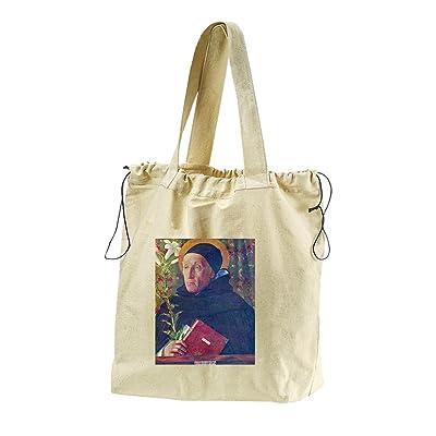 St. Dominic (Bellini) Canvas Drawstring Beach Tote Bag cheap