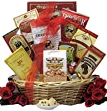 GreatArrivals Gift Baskets Snack Attack Small:Gourmet Snacks Gift Basket, 2.26 Kg