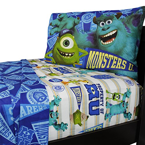 University Twin Sheet Set - Disney Pixar Monsters University Sheet Set, Twin