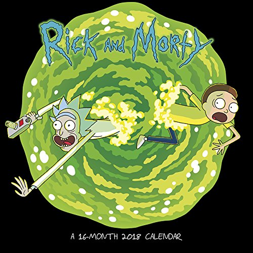 Rick and Morty 2018 Wall Calendar cover