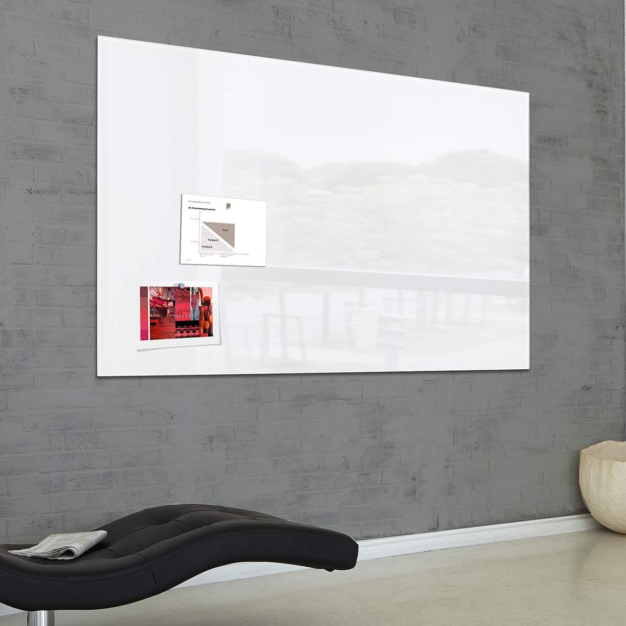 SIGEL GL220 Pizarra de cristal magnética Artverum, 150x100 ...