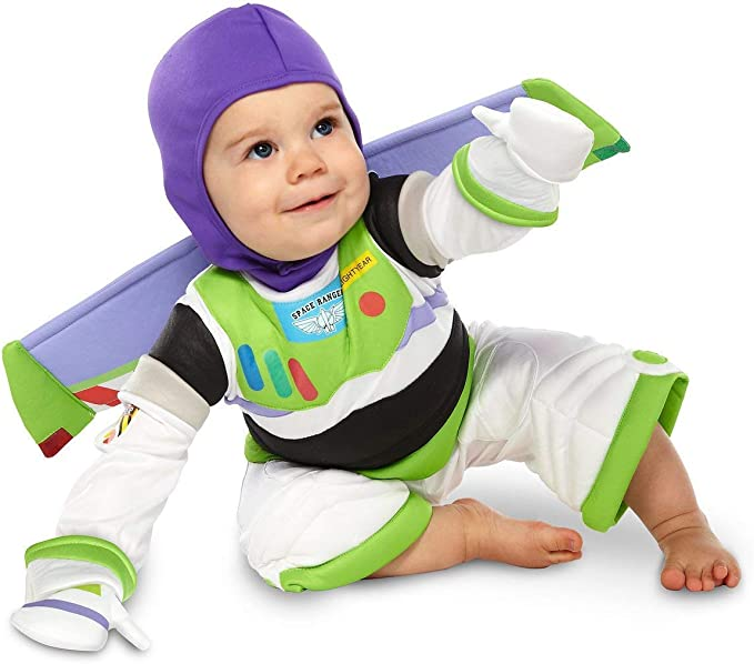 Disney Store Deluxe Buzz Lightyear Costume for Baby Toddlers Halloween (2T or 2 Years)