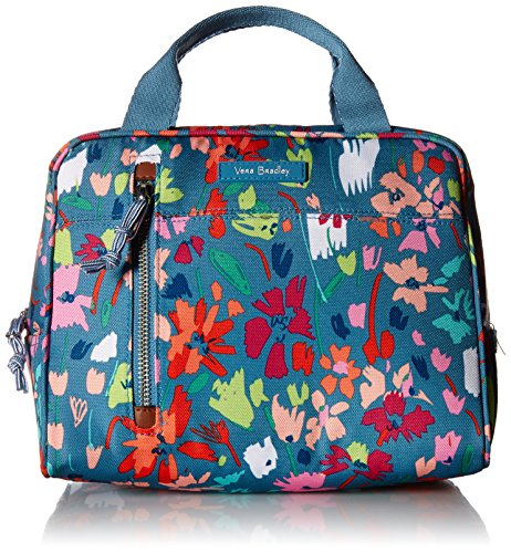 Vera Bradley Lighten up Lunch Cooler, Polyester, Superbloom Sketch