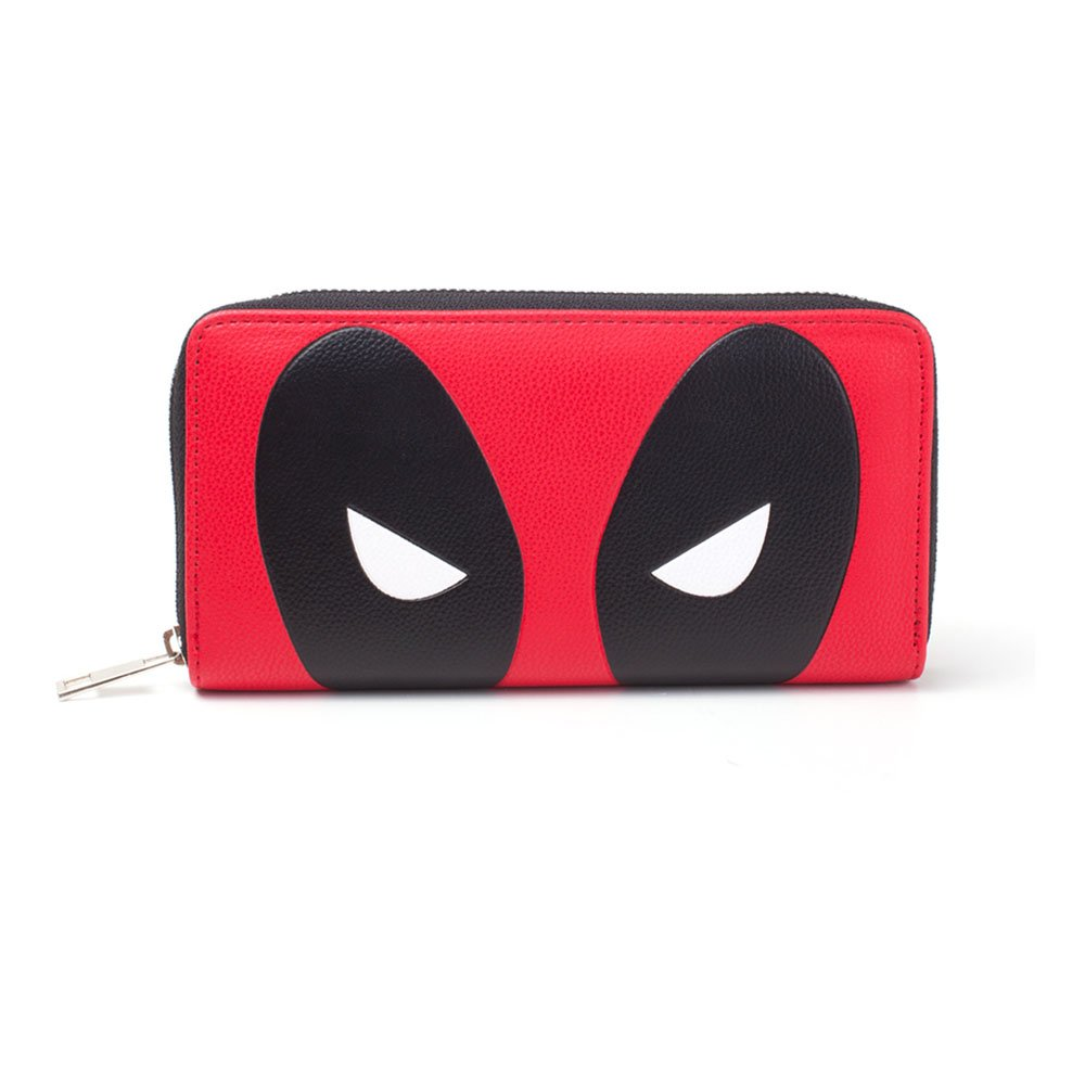 Bioworld Marvel Comics Deadpool Girls Purse, Red (Mw854172Ded) Coin Pouch, 16 cm, Red BIO-MW854172DED