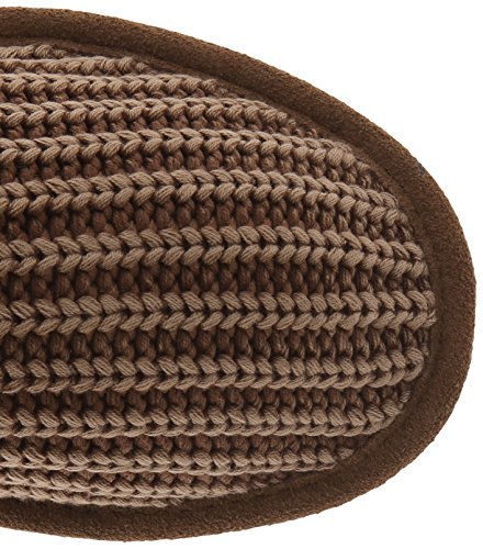 BEARPAW Women's 8 Tall Boot Knit US Winter Hickory M 1PBwPqn