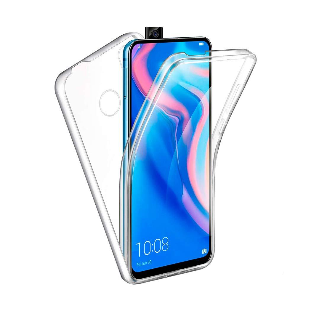 APOKIN Funda Doble Huawei P Smart Z Silicona Transparente Delantera y Trasera
