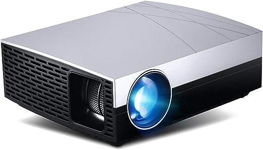 Proyector de video, mini proyector portátil de cine en casa de ...