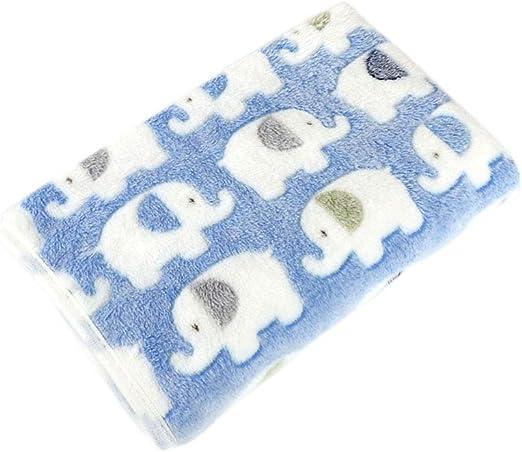 Azul d Cupcinu Manta de Perro Colch/ón para Mascotas Mantas de Cama de Nido Esteras para Perros Felpudo Almohadillas para Mascotas Se Puede Doblar y Limpiar 1pcs