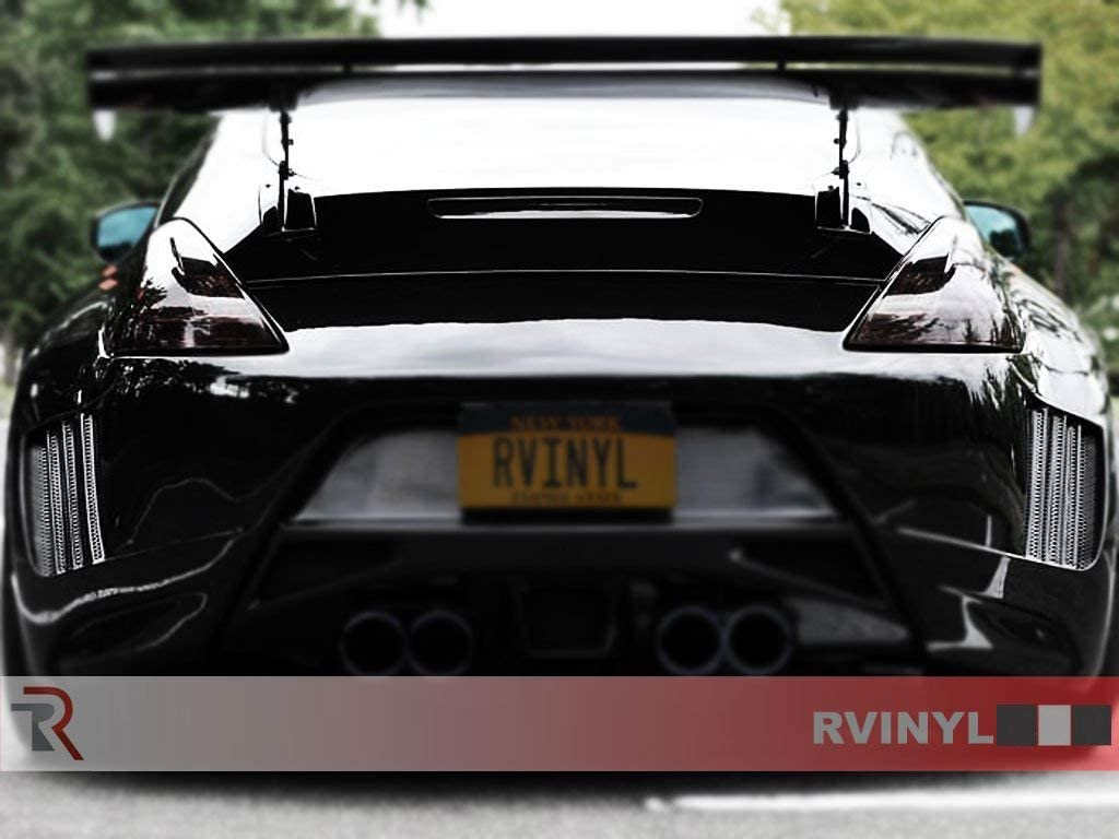 Rtint Tail Light Tint Covers for Buick Enclave 2013-2017 Blackout Smoke