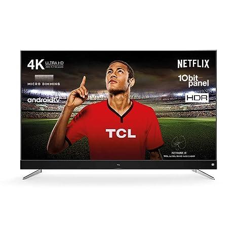 TCL U65C7006 165 cm (65 Zoll) Fernseher (Ultra HD, HDR10, Android TV, JBL by Harman Soundsystem)