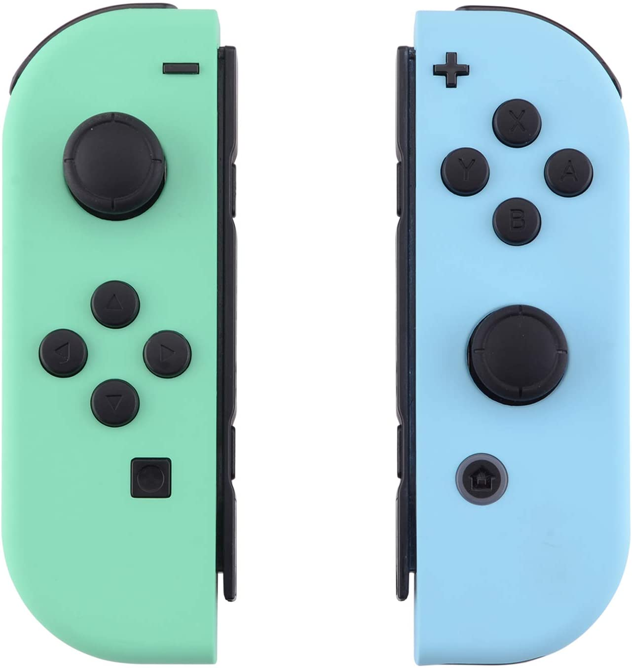 eXtremeRate Carcasa para Joy-Con Nintendo Switch Funda de Grip de reemplazo Tacto Suave Shell con Botón completo Case para Joycons Nintendo Switch-No incluye Carcasa de Consola(Menta Verde&Cielo Azul): Amazon.es: Electrónica