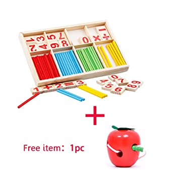 Learning & Education Toys & Hobbies 54pcs Children Enlightenment Intelligence Arithmetic Cards Educational Toys Numbers Toy Daycare Small Game Kids Toys Montessori