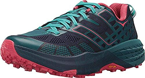 Hoka One One Speedgoat 2 Women Peacoat Ceramic Zapatillas de Trail Running Mujer: Amazon.es: Zapatos y complementos