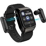 S300 2 in 1 TWS Smart Bracelet Wireless Bluetooth Headset Combo Smart Watch Men Earbuds with Bluetooth Earphones Smartwatch M