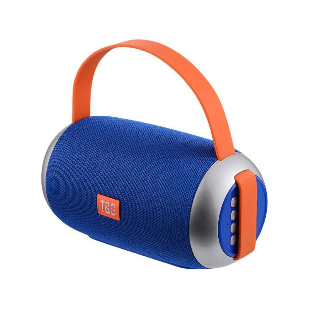 SCHANIN ワイヤレスポータブルBluetoothスピーカー 防水 ステレオサウンド 太い低音 耐久性 携帯電話用 ブルー USULXYL308109 B07QHSVZCQ ブルー