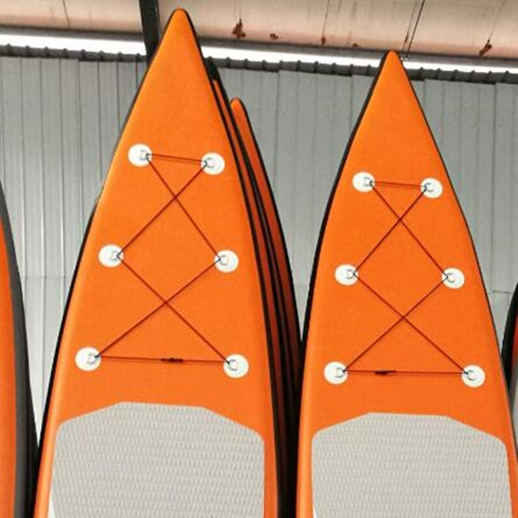 Tubayia Anneau en Acier Inoxydable D pour Bateau Kanu Kajak Sup Accessoire de Planche de Surf