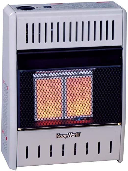 Amazon Com Kozy World Kwp112 10 000 Btu Vent Free Lp Gas Infrared Wall Heater Home Kitchen