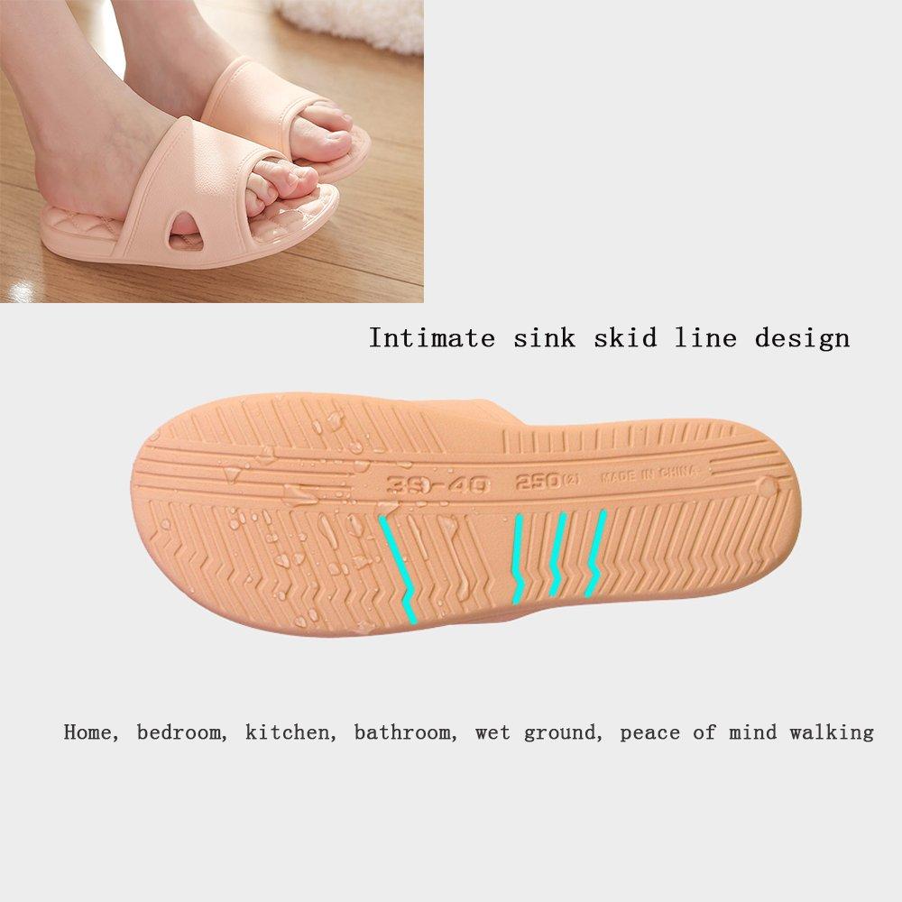 WILLIAM/&KATE Summer Men/&Women Sandals Bathroom Anti-Slip Slipper Home Couple Slippers