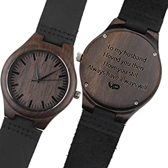 Best Husband Gifts Personalized Watch