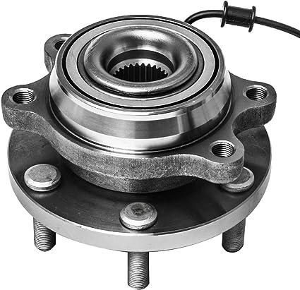 MACEL 515065 Wheel Hub Bearing Assembly for 2005-2009 Nissan Frontier Pathfinder Xterra 6 Lugs W//ABS