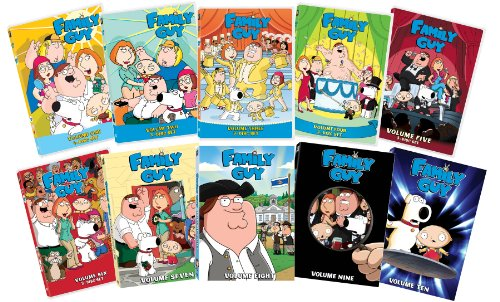 - Family Guy Volume 1-10 Collection