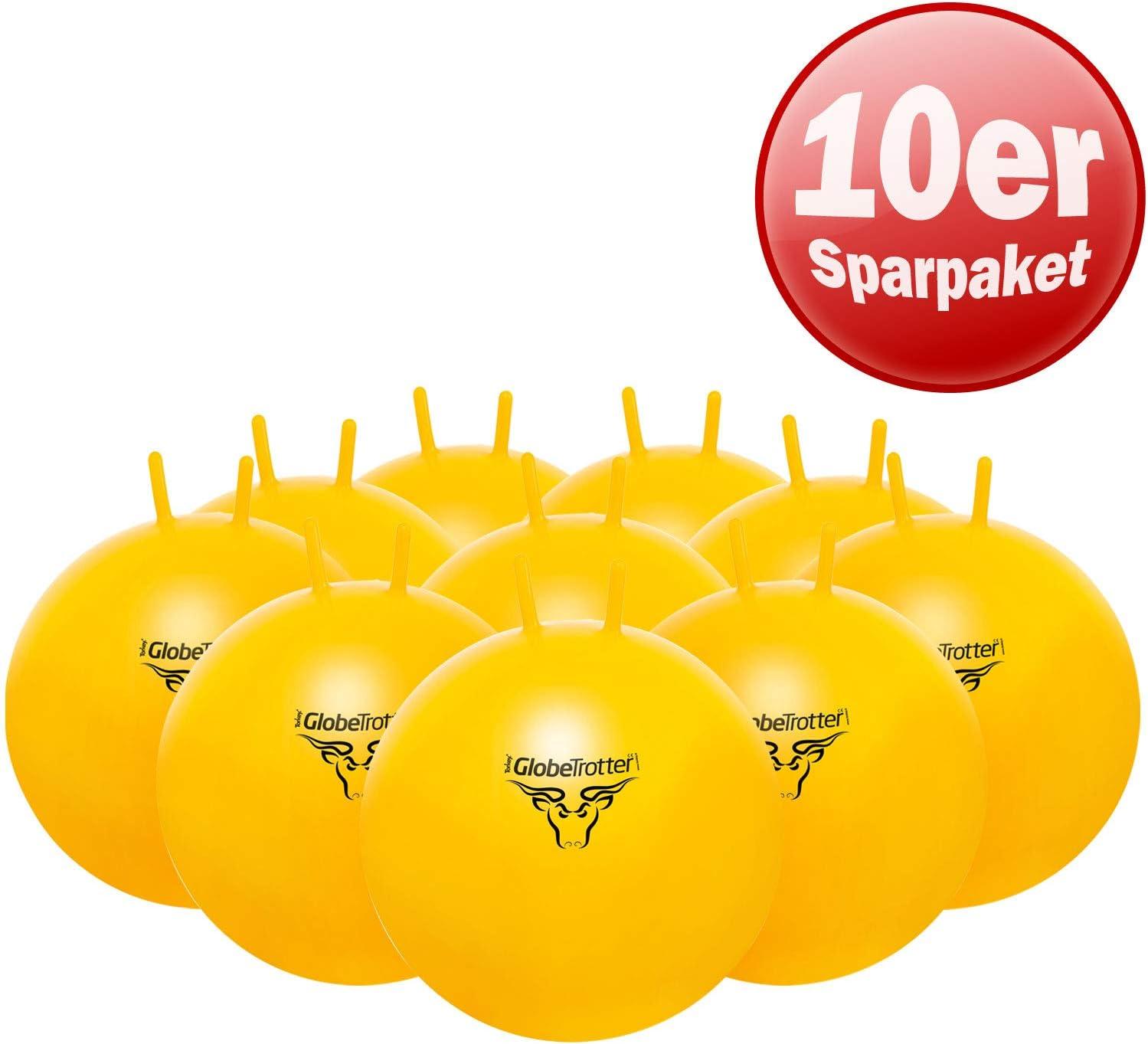PEZZI Original Globetrotter - Pelotas saltarinas (10 Unidades), 65 ...