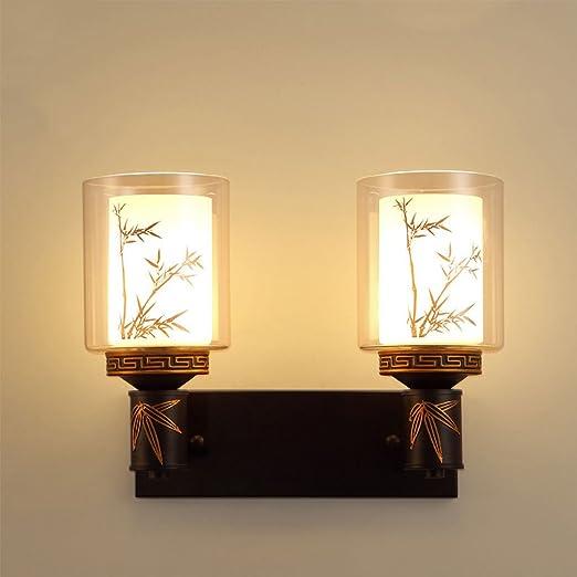 Met Love Chinese Style Wall Lamp Bedroom Bedside Living Room Aisle ...