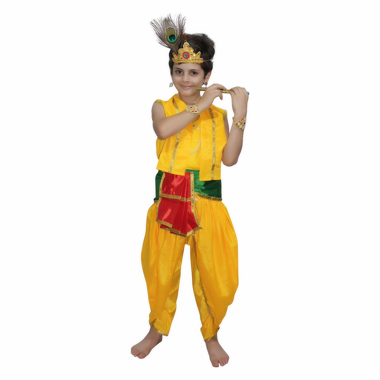 new york buy best where to buy Buy Kaku Fancy Dresses Bal Krishna Costume for Krishnaleela ...