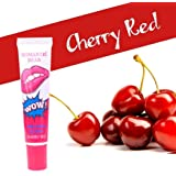 Romantic Bear Women easy peel off long lasting Smudgeproof Waterproof makeup tatoo lip gloss lipstick - 15 gms, 1 unit (Cherry Red)