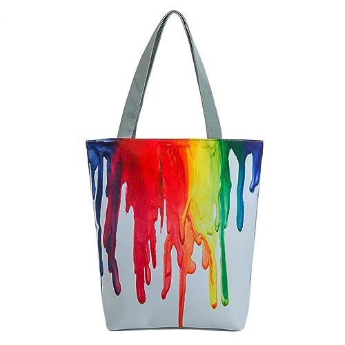 e66eeb146d Borsa A Tracolla,Kword Boemia Tela Tote Casual Beach Borse Donna Shopping Bag  Borse: Amazon.it: Scarpe e borse