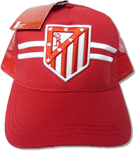 GORRA OFICIAL ATLETICO DE MADRID REJILLA 2016 ADULTO: Amazon.es ...