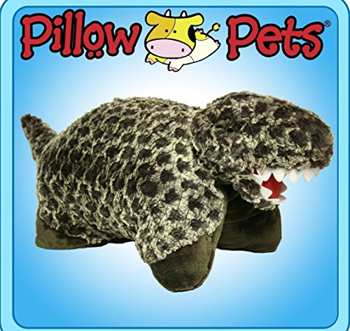 Pillow Pets Pee-Wee In Trexasaurus Small 11 INCH (Soft Pl...