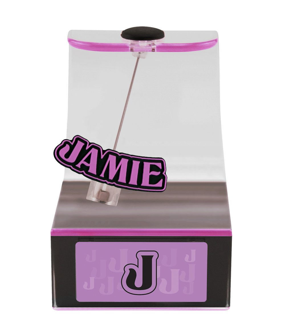 The Swing Thing Jamie Solar Powered Personalized Dancing Desk Accessory with Swinging Name