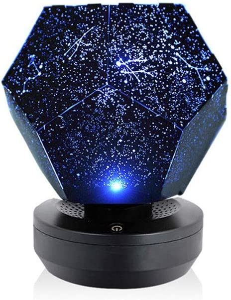 La estrella del proyector del cielo de la luna, USB con pilas ...