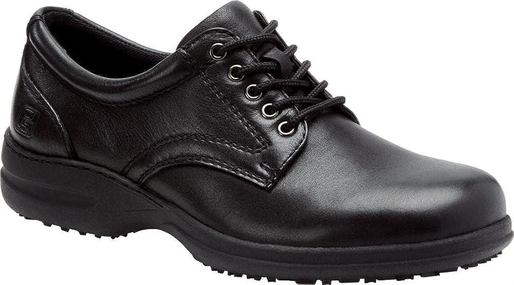Pro-Step Mens Admiral SR Work Oxford Shoes Black