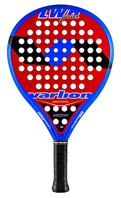 Varlion LW H Junior - Pala de pádel, Unisex Niños, Rojo/Azul, 280-285 gr.: Amazon.es: Deportes y aire libre