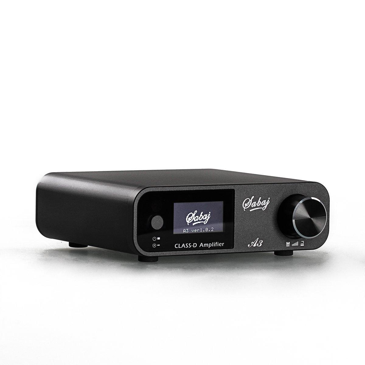 Sabaj A3 80Wx2 Amplificadores Est/éreo Hifi Bluetooth 4.2 AMP USB DSP para Equipos de Audio