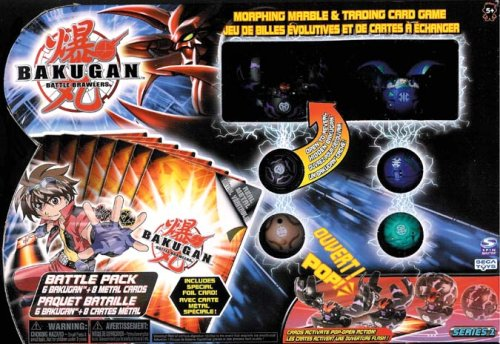 Bakugan Battle Brawlers 6 Pack (Random Colors) by VIPtrades