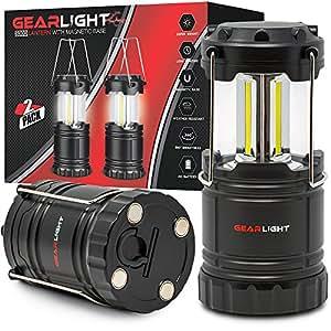 Amazon Com Gearlight Led Lantern With Magnetic Base 2
