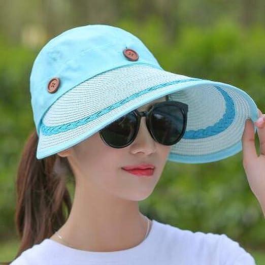 kyprx Sombreros para el Sol para Mujer Sombreros para el Sol para ...
