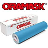"""Oracal ORAMASK 813 Stencil Film Roll for cricut, Silhouette, Cameo, Craft Cutters (12"""" x 10Ft)"""