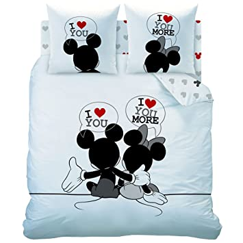 Couvre Lit Mickey Et Minnie | Redbestbuy