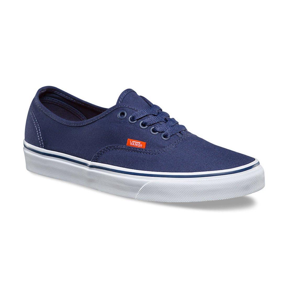 Vans Unisex Authentic Shoes Pop Canvas Crown Blue/True White Size M10 W11.5