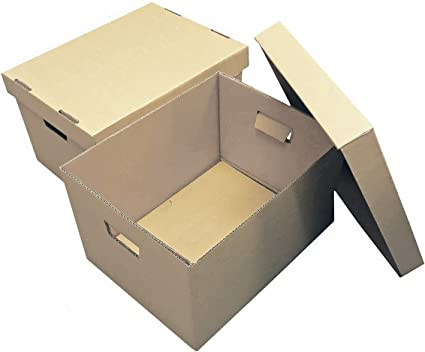 Cajas de almacenamiento (3 unidades), 405 x 318 x 254 mm (16 x 12,5 x