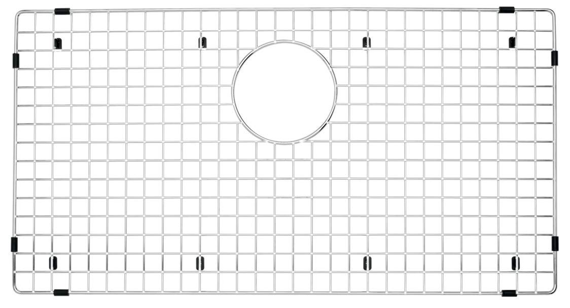 Blanco 236593 Stainless Steel Sink Grid (Precis 30'' Single) Accessory, 30'' x 16.13'' x 0.25'' by Blanco