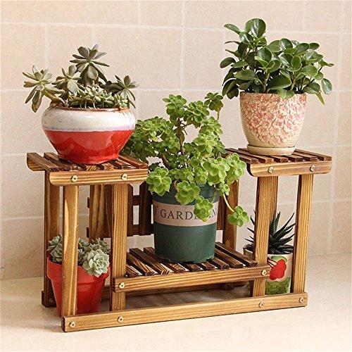 ... WYDM En bois massif balcon étagère à fleurs salon à débarqueHommes t  étagère à salon fleurs 6dd2e6a5a78
